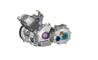 Motor 200cc benzine