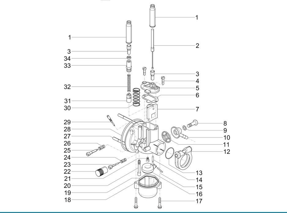 Carburateur-en-Oliepomp