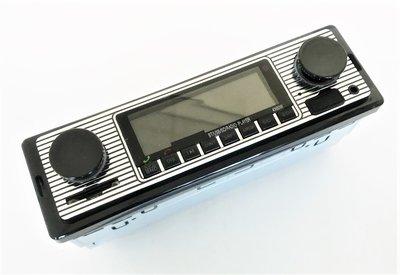 Autoradio met USB, SD + Handsfree