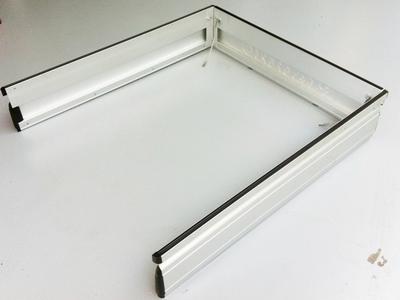 Aluminium laadbak zijkleppen en achterklep set