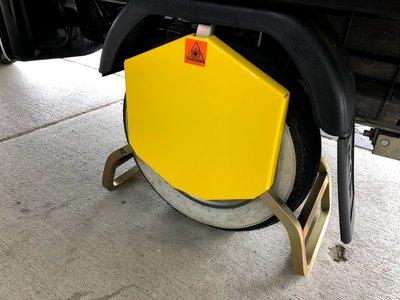Wielklem 8-10 inch voor Piaggio Ape , SCM goedgekeurd